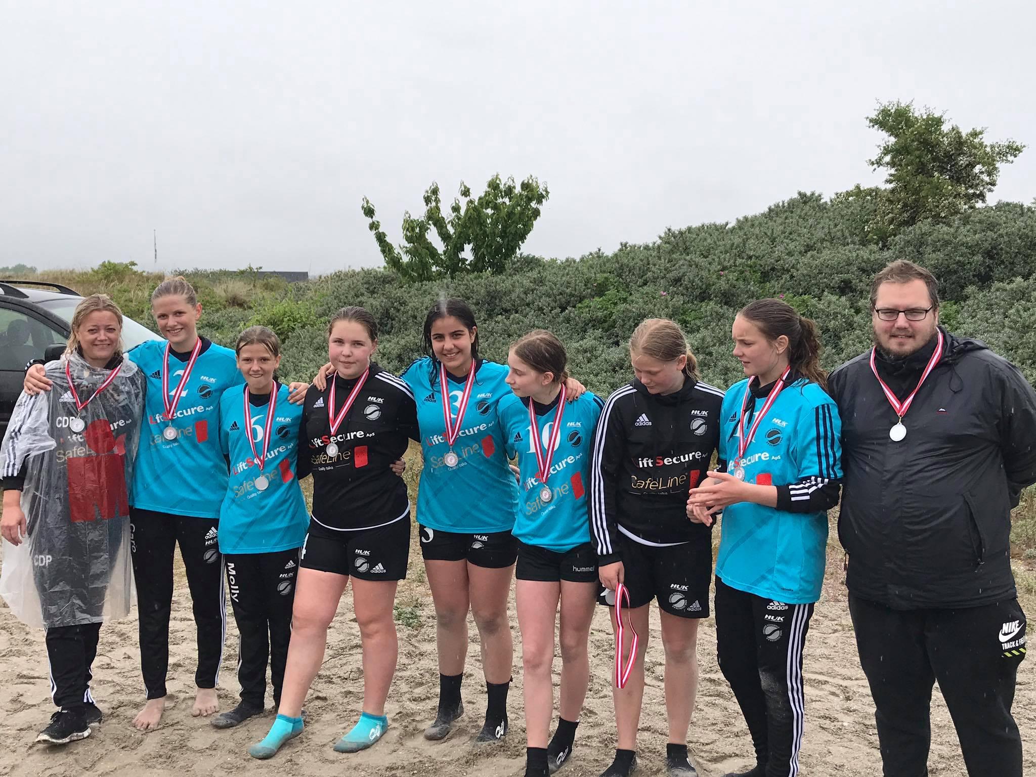 2017 Beach U14 Vallensbæk Guld
